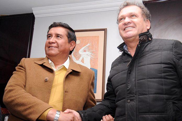 César Salinas y David Paniagua