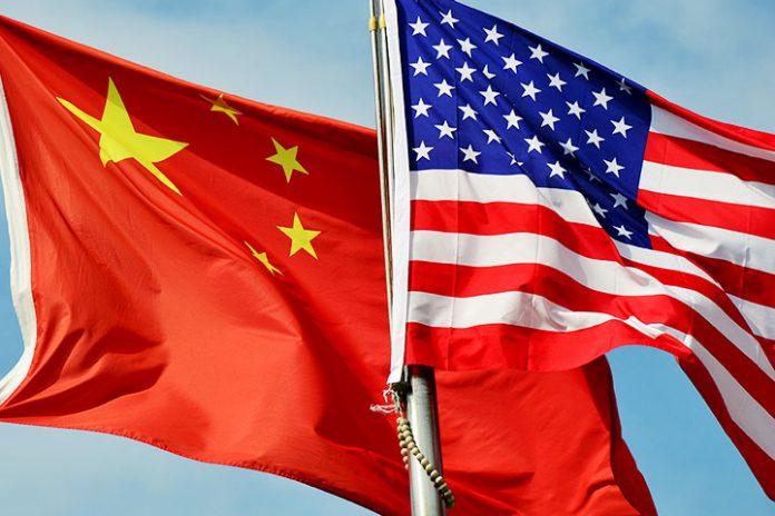 banderas China EEUU