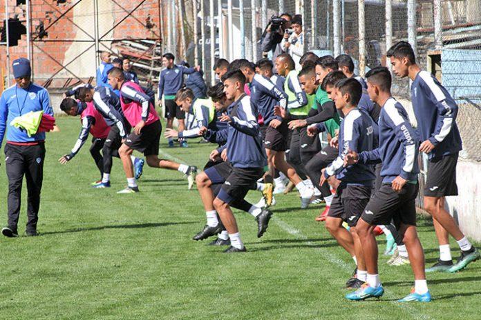 entrenamiento Bolívar 1