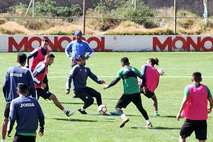 entrenamiento Bolívar