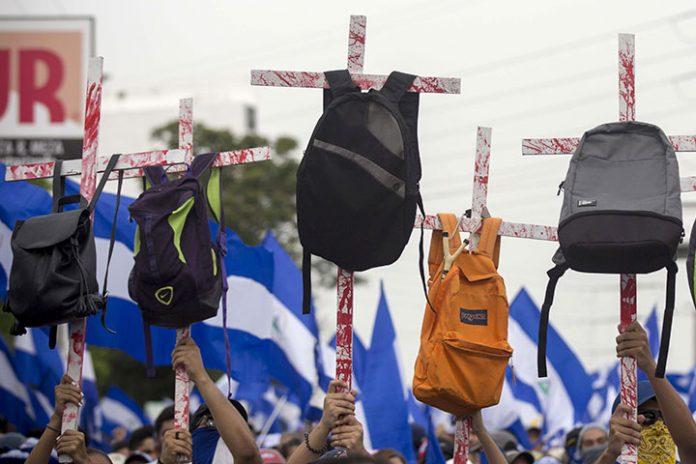manifestaciones Nicaragua