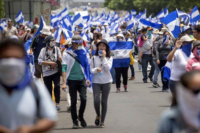 marchas Nicaragua
