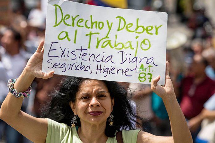protestas gremiales Venezuela