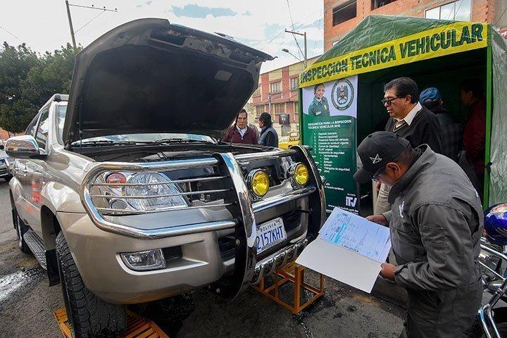 Inspección técnica vehicular