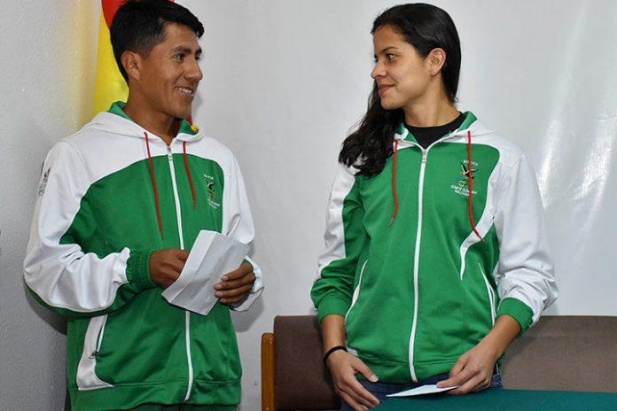 Ronal Quispe y Karen Tórrez