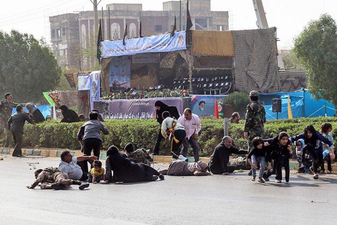 atentado terrorista Irán