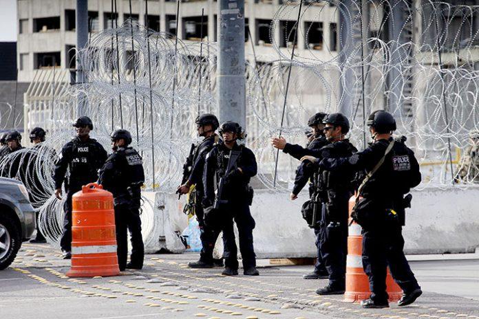 policías norteamericanos