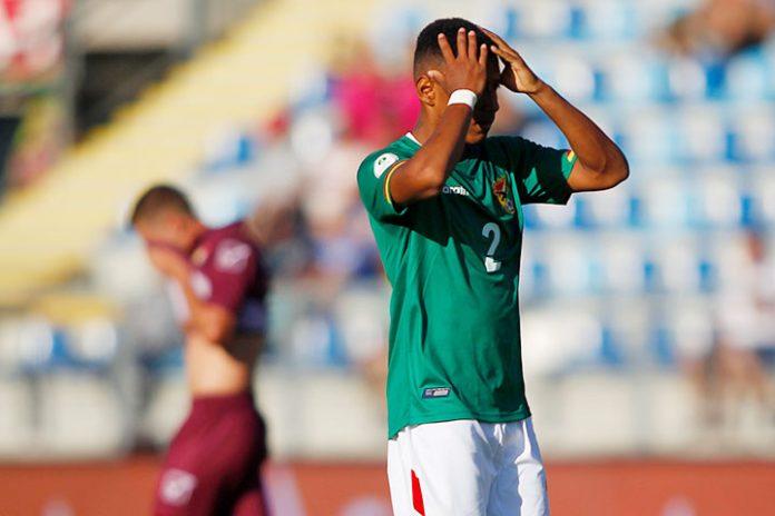 Bolivia Sudamericano Sub 20