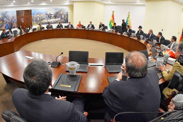 primer gabinete ministerial
