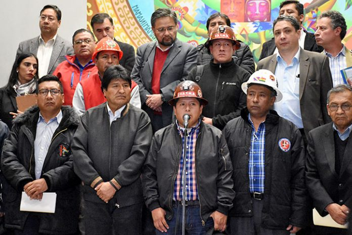 Evo Morales COB