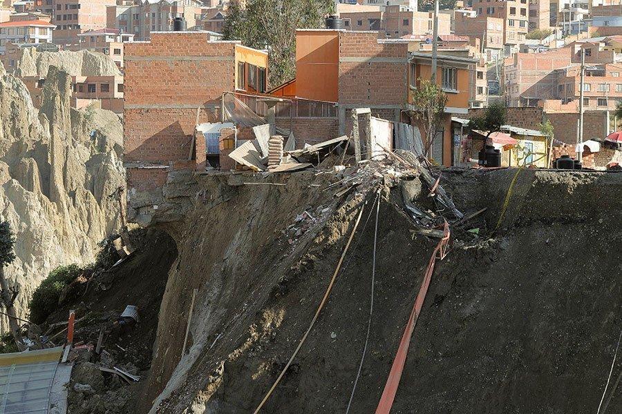 deslizamiento La Paz 2