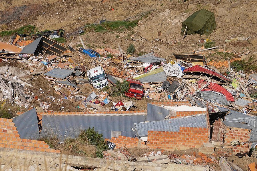 deslizamiento La Paz 3