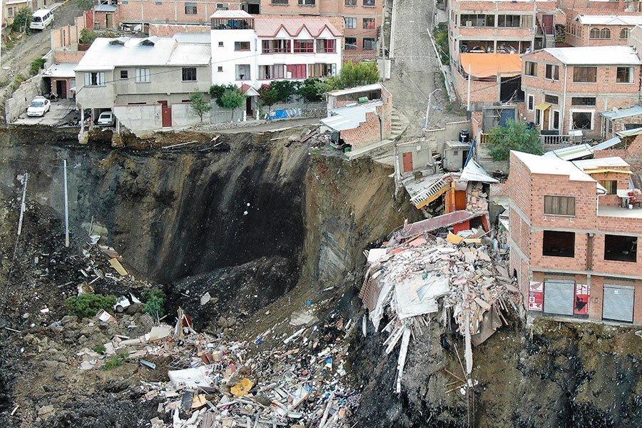deslizamiento La Paz 5
