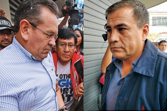 Gonzalo Medina y Fernando Moreira