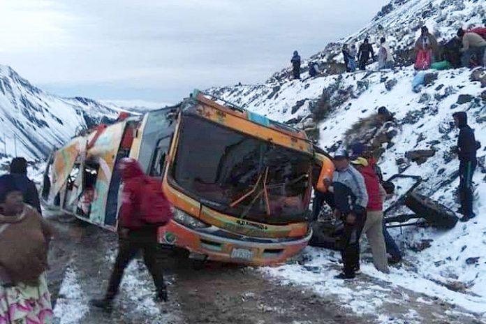 accidente La Paz