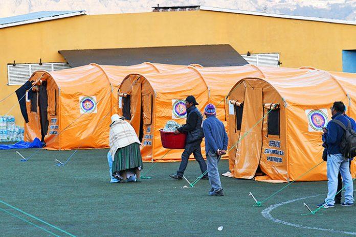 campamento cancha Fígaro