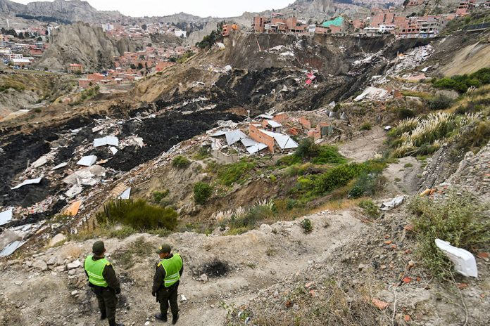 deslizamiento San Jorge Kantutani