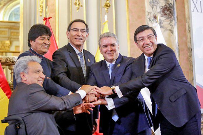 presidentes Comunidad Andina