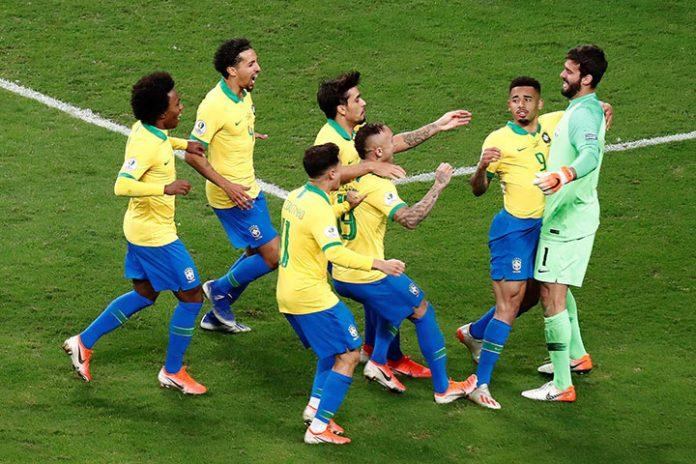 jugadores de Brasil