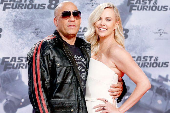 Vin Diesel y Charlize Theron