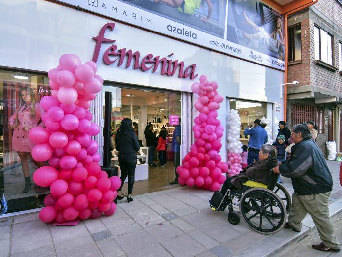 Inauguración tienda El Alto Femenina