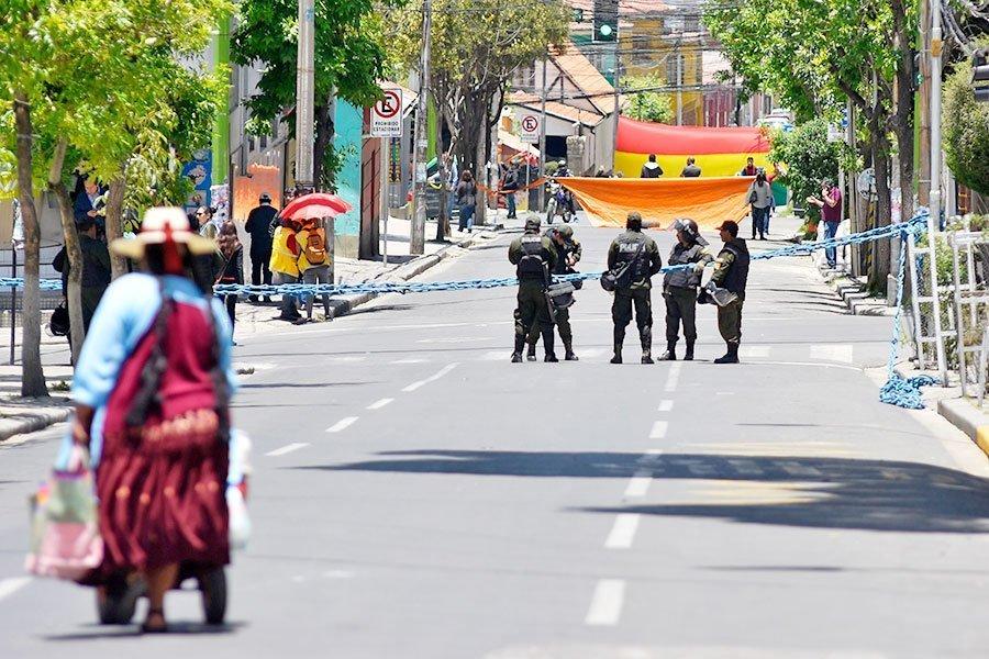 bloqueo La Paz