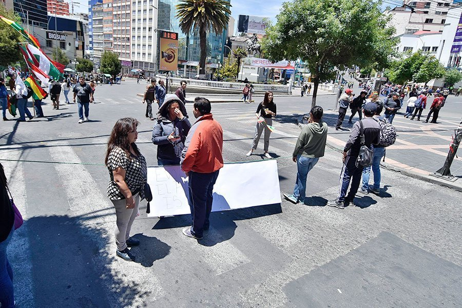 bloqueos La Paz