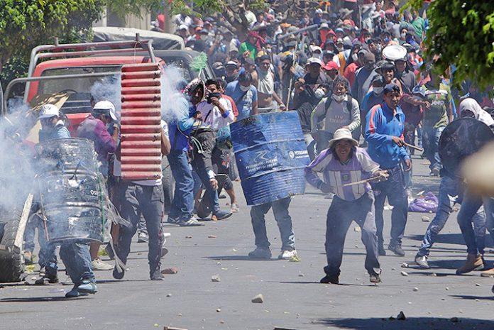 enfrentamientos Cochabamba 1