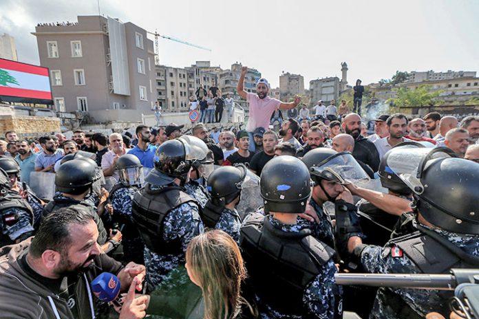 protestas Líbano 1