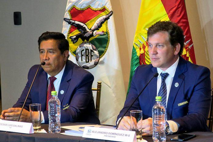 César Salinas y Alejandro Domínguez