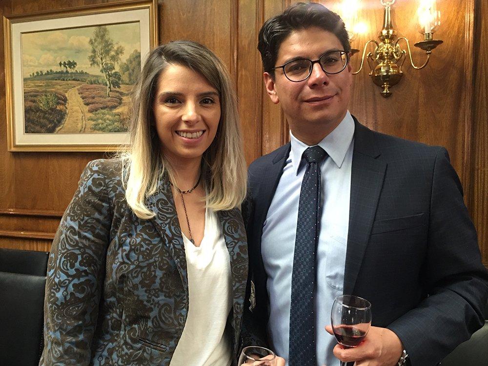 Mariela Soliz y Paulo Calvo
