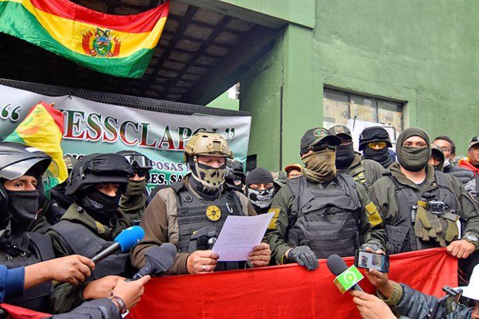 Policías La Paz