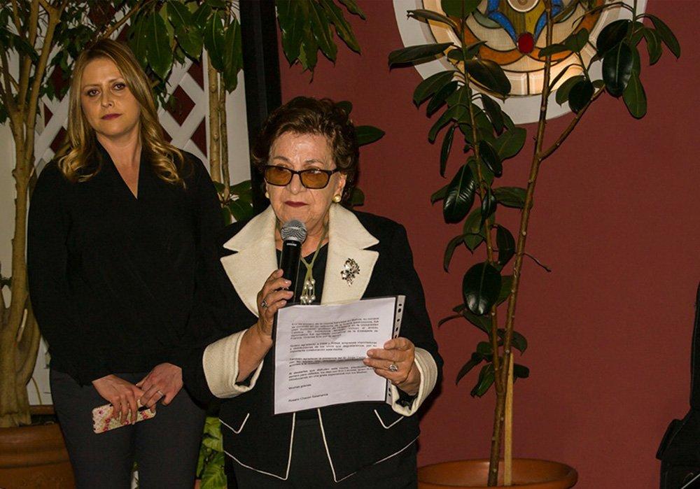 Rosario Chacón Presidenta del Círculo de la Unión