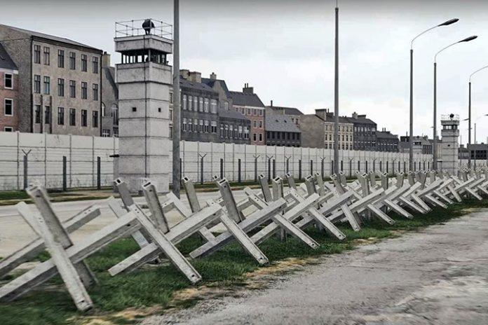 Virtually History The Berlin Wall