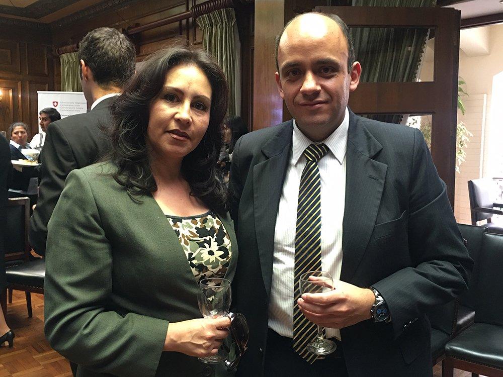 Wendy Vargas y Juan Pablo Antezana