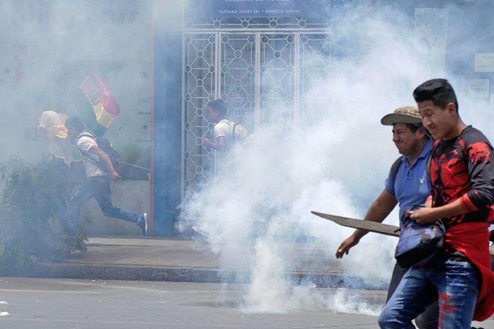 enfrentamientos Cochabamba