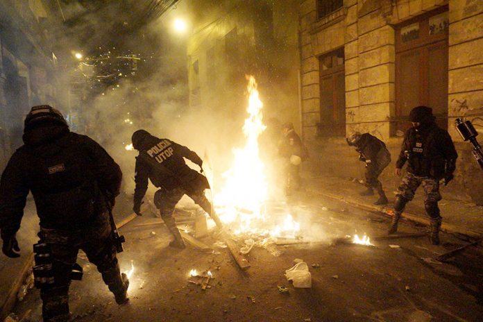 enfrentamientos La Paz