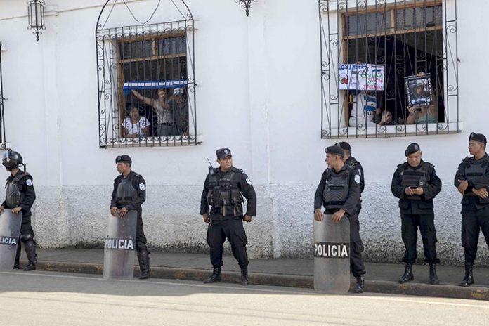 huelga de hambre en Nicaragua