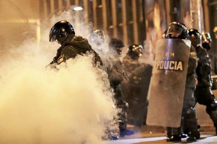 policía La Paz