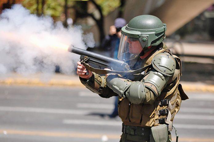 protestas Santiago 1