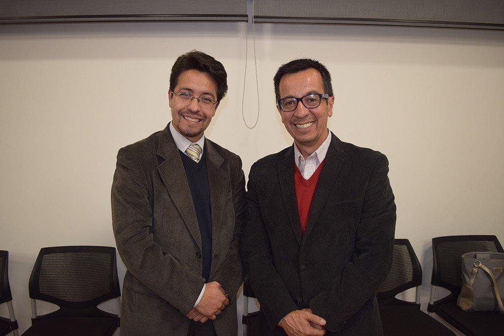 Alejandro Gozalves y Juan Carlos Vacaflor