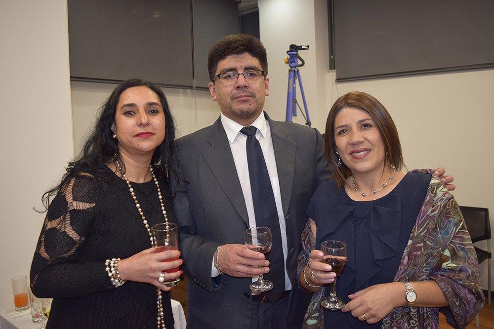 Celina Pérez Alex Espinal y Gisela Mac lean