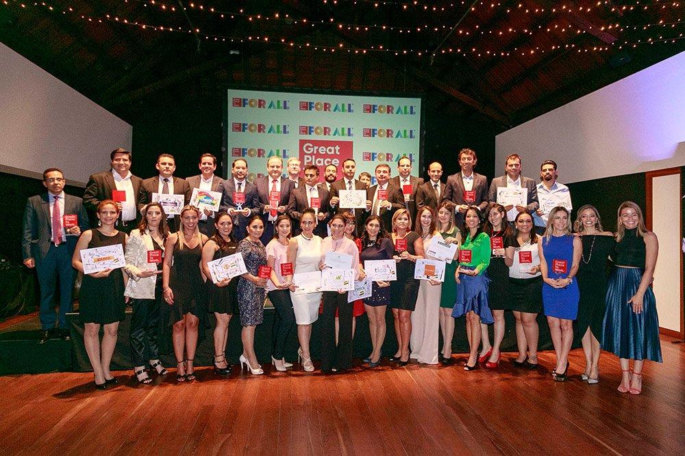 Great Place to Work reconoce por 4to año consecutivo al Banco Mercantil Santa Cruz