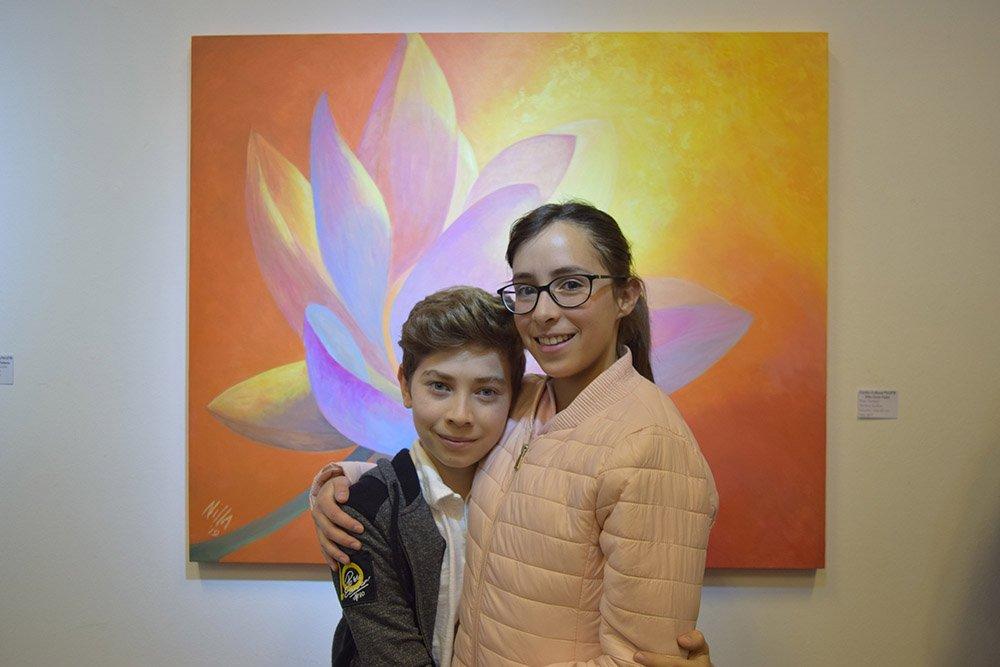 Lorenzo Morales y Natalia Medeiros