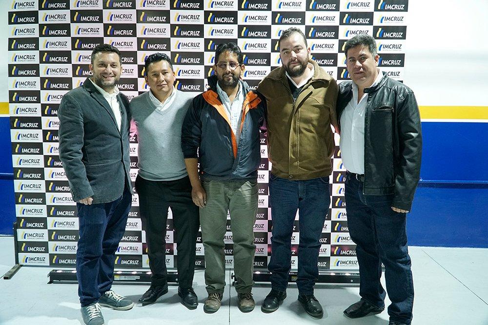 Muci Chali Edwin Quispe Daniel Hinojosa Ariel Estenssoro y Sergio Villalobos