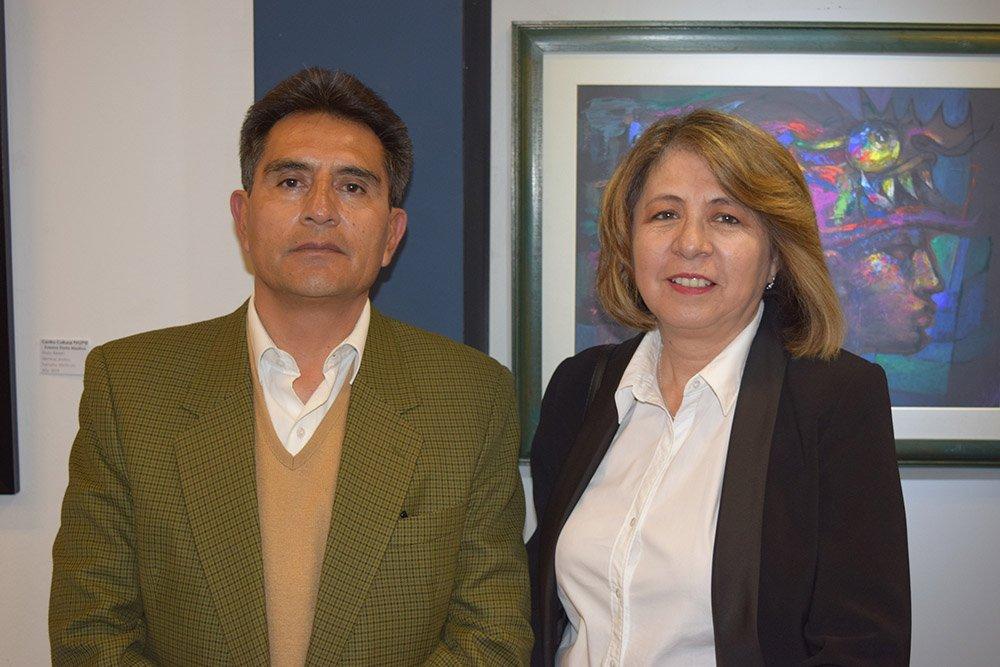 Oscar Vilela y Olga Montero