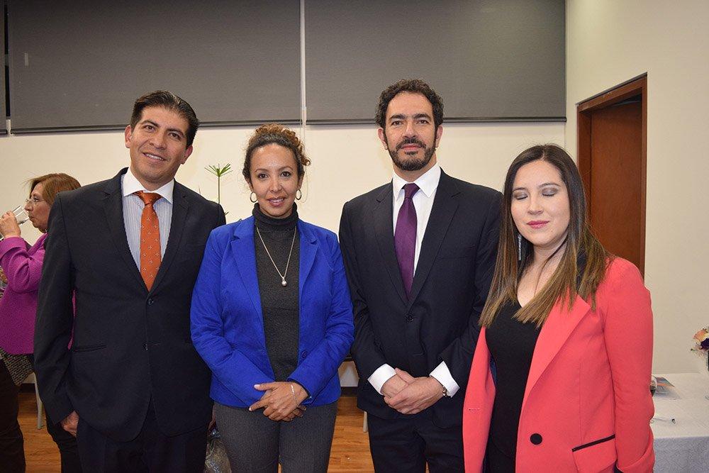 Vladimir Fernández Daniela Barreal Mario Patiño y Faviola Claure