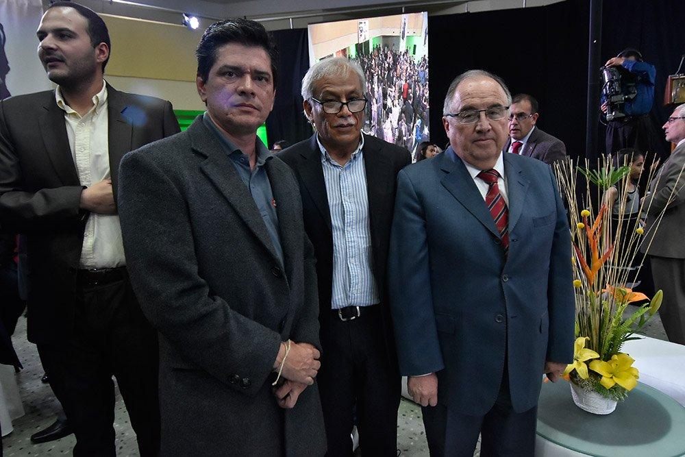 Carlos Zannier Jaime Aliaga Tony Añez