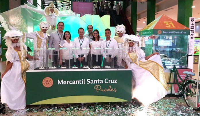 El Banco Mercantil Santa Cruz cierra el año premiando a sus clientes con 1 Millón de bolivianos