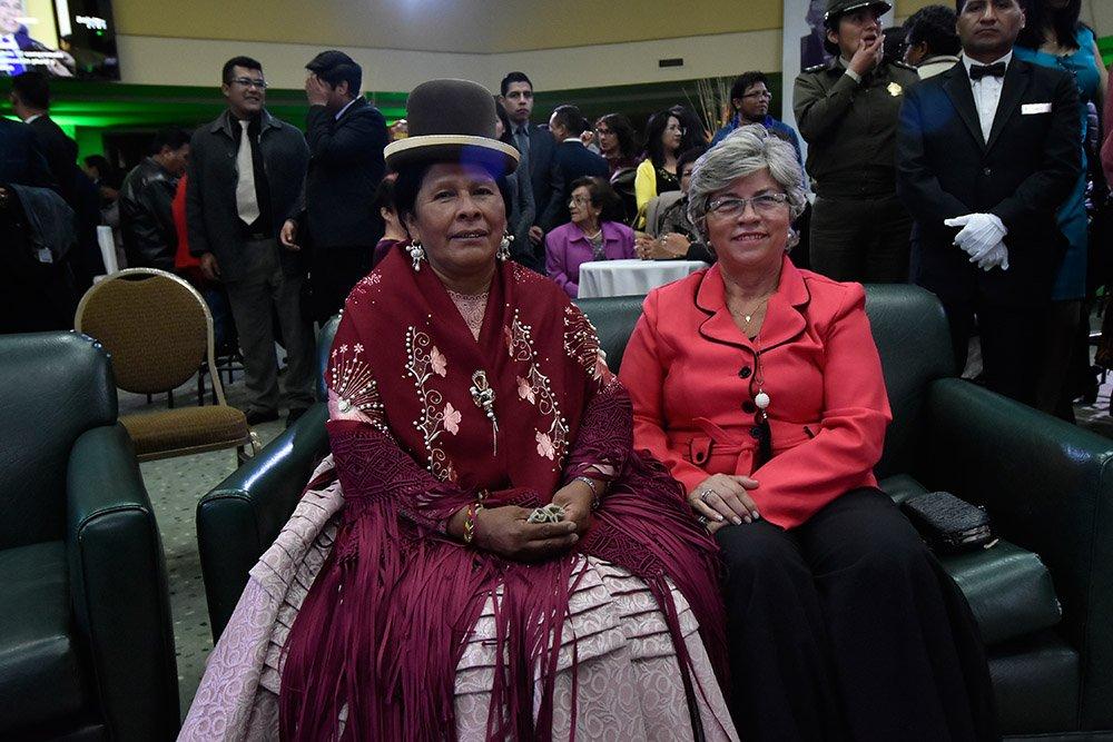 Martha Yugra Apaza María Elva Pinckert